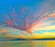 Photo of multi-colored sky