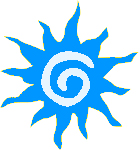 Medium Blue Sun